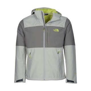 The North Face Hoodie PRS Jacket Faux Fur Lining Light Grey X-Large