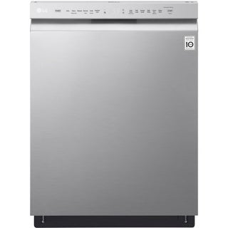 LG LDF5545 24 Inch Wide 15 Place Setting Energy Star Rated Built In Full Console Dishwasher with Front Controls