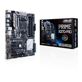 Asus Motherboard Prime X370-Pro Amd Ryzen Am4 X370 Ddr4 Sata Pci-E M.2 Usb3.1