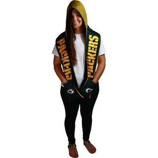 Green Bay Packers Printed Hooded Scarf