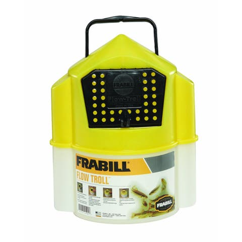 Frabill 4501 Flow TrollA Bait Container, 6 Qt Capacity