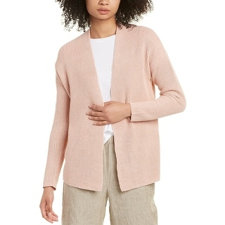 Link to Eileen Fisher Boxy Linen-Blend Cardigan Similar Items in Women's Sweaters