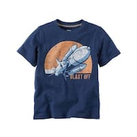 Carter's Baby Boys' Rocket Graphic Tee, 3 Months