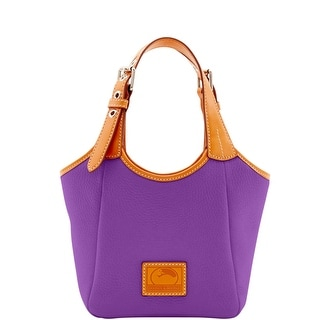 Dooney & Bourke Patterson Leather Small Penelope (Introduced by Dooney & Bourke at $228 in Dec 2016) - Violet