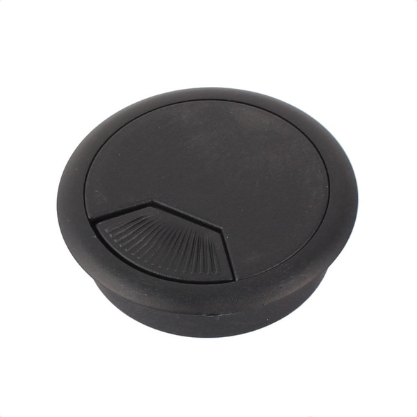 office desk cable hole. Home Office Plastic Computer Desk Adjustable Wire Cable Hole Cover Black  53mm Office Desk Cable Hole C