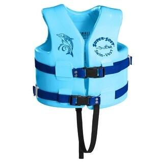TRC Recreation Kids Super Soft USCG Vest XS - Marina Blue - 1020528