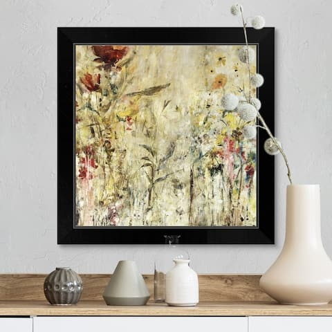 """Tiny Guardians"" Black Framed Print"