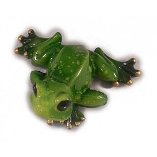 "Sea Creations Frog Figurine 2"" Green"