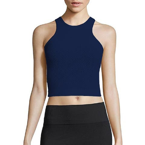 Phat Buddha Blue Crop Top