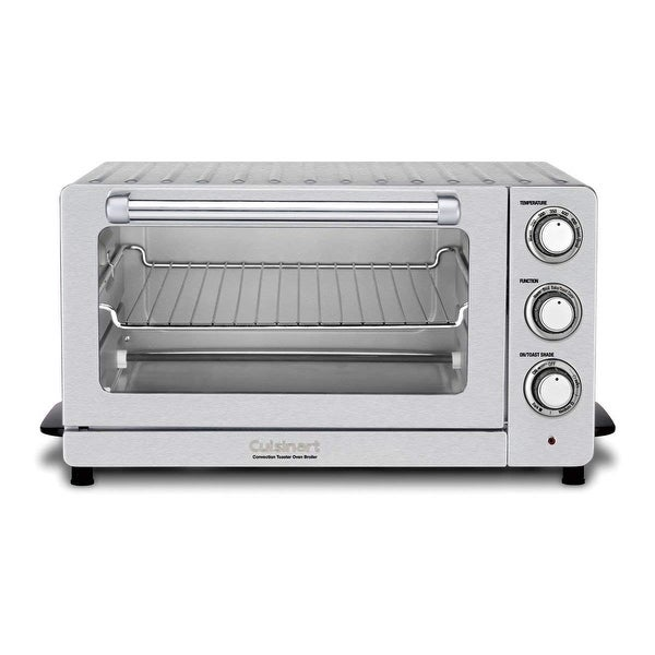Cuisinart TOB-60NFR Toaster Oven Broiler with Convection, Silver, Certified Refurbished
