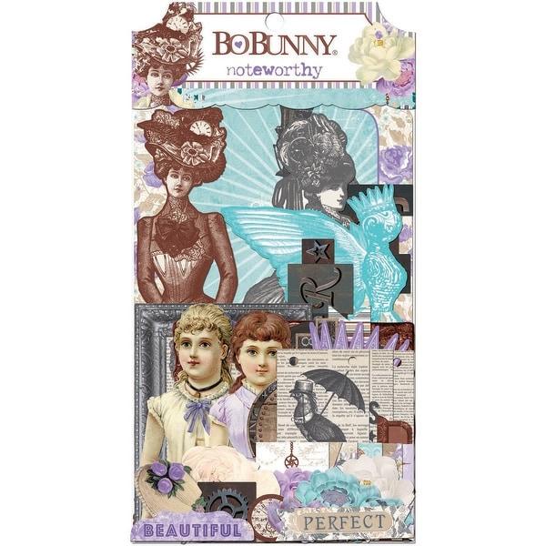 Penny Emporium Noteworthy Die-Cuts 42/Pkg-