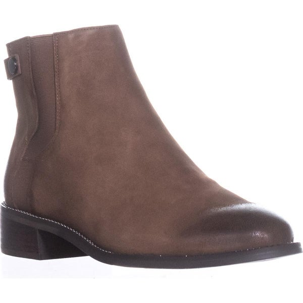 Franco Sarto Brandy Flat Casual Ankle Boots, Mushroom - 9 w us