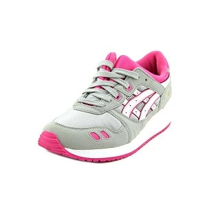 Asics GEL-Lyte III GS Round Toe Synthetic Running Shoe