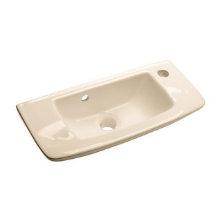 Small Wall Mount Vessel Sink Grade A Vitreous China Scratch and Stain Resistant