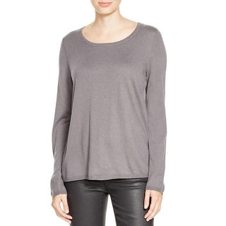 Joie Womens Jasmine Pullover Sweater Silk Back Cashmere