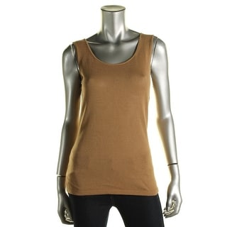 Lafayette 148 Womens Petites Tank Top Sweater Knit Sleeveless - S