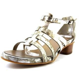 Vaneli Kezia Open Toe Leather Sandals