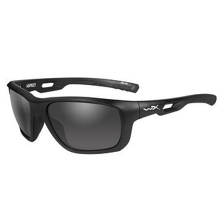 Wiley x aspect grey lens matte black frame acasp01