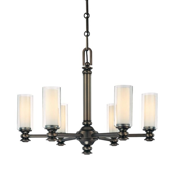 Minka Lavery 4366 6 Light 1 Tier Chandelier from the Harvard Court Collection