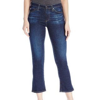 Adriano Goldschmied NEW Blue Women's Size 29X26 Jodi Cropped Jeans