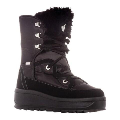 Pajar Women's Tacey Ankle Boot Nero/Nero