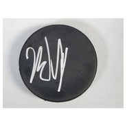 Signed Gibson John Blank Hockey Puck autographed