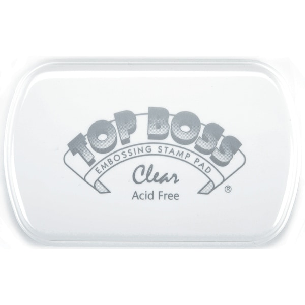 Top Boss Embossing Pad-Clear