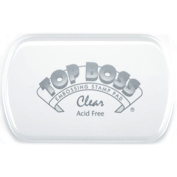 Top Boss Embossing Pad-Clear - Clear