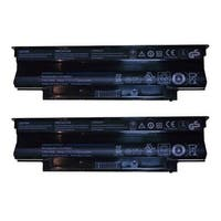 Replacement Dell J1KND 4400mAh Battery for Inspiron M5030R Dell Laptop Models (2 Pack)