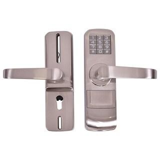 Costway Door Lock Digital Electronic Code Keyless Keypad Security - sliver