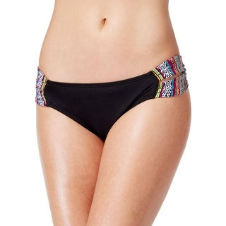 Lucky Brand Womens Hipster Printed Swim Bottom Separates - S