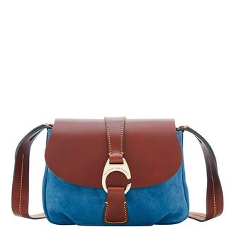 Dooney & Bourke Derby Suede Small Flap Crossbody Shoulder Bag (Introduced by Dooney & Bourke at $238 in May 2018)