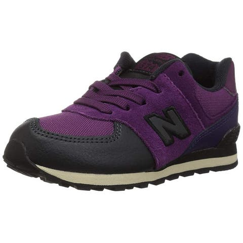 Kids New Balance Boys Iconic 574 Low Top Lace Up Running Sneaker