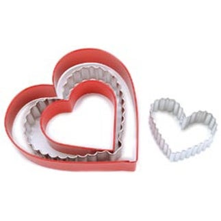 From The Heart - Nesting Metal Cookie Cutter Set 4/Pkg