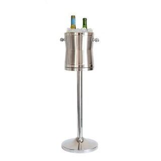 Maroxx Champagne/Wine Cooler - The Luxury No Drip Stainless Steel Ice Bucket & Stand