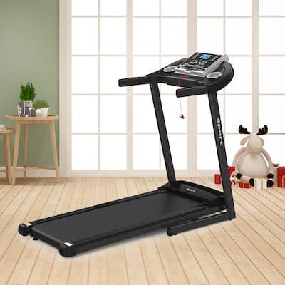 Moda Folding Treadmill Motorized Running Jogging Machine with LCD