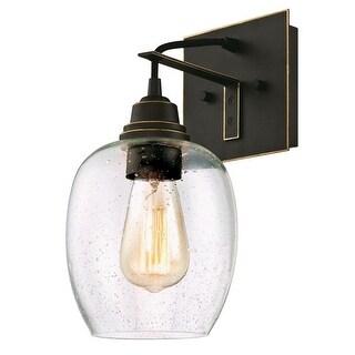 "Westinghouse 6333200 Eldon 1-Light 6-1/4"" Wide Bathroom Sconce - Oil Rubbed bronze - n/a"