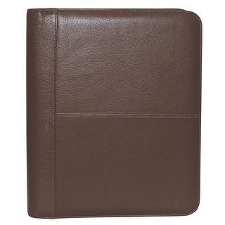 Buxton Genuine Leather Zip-Around Portfolio