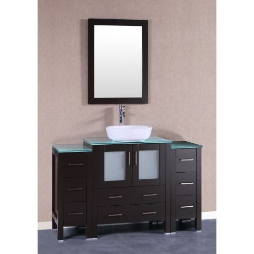 Bosconi A130bwlcwg2s 84 Free Standing Vanity Set With Wood Cabinet Shipping Today 23601941
