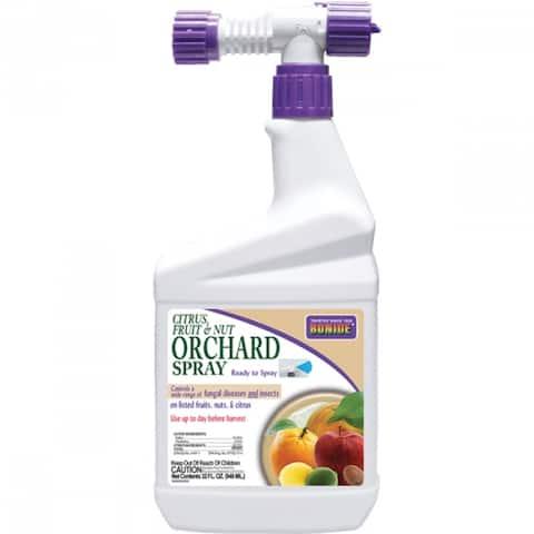 Bonide 216 Citrus/Fruit & Nut Orchard Insecticide Spray, 32 Oz