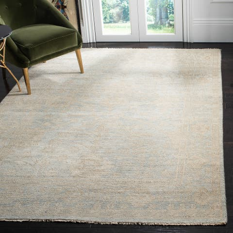 Safavieh Hand-knotted Izmir Aliza Traditional Oriental Wool Rug with Fringe