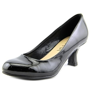 Amiana 15/A5304 Round Toe Leather Heels