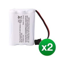 Replacement Battery For Uniden DCT6465-2 / DCX730 Cordless Phones - BT446 (800mAh, 3.6V, Ni-MH) - 2 Pack