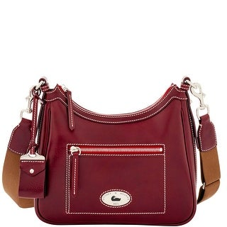Dooney & Bourke Florentine Toscana Crossbody Hobo (Introduced by Dooney & Bourke at $398 in Sep 2016) - Bordeaux