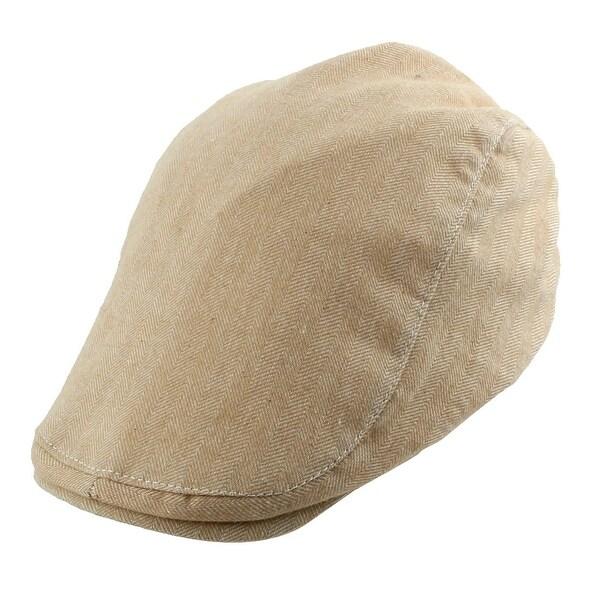 082dbb5129c5d Men Women Newsboy Duckbill Ivy Cap Travel Driving Casual Flat Beret Hat  Khaki
