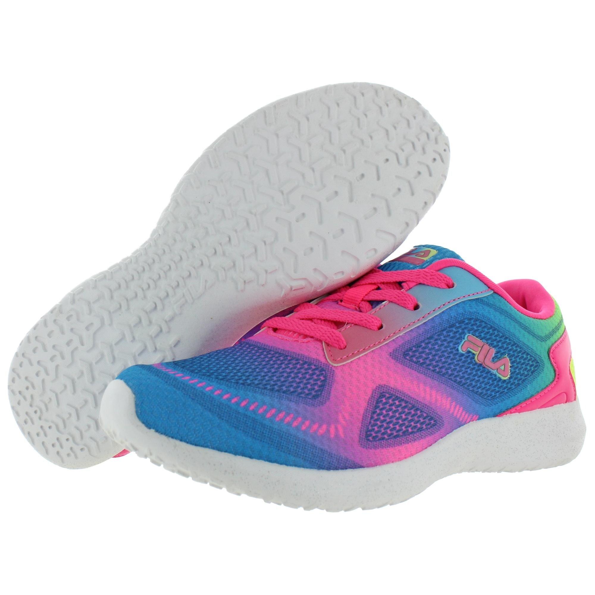 Shop Fila Girls Kameo 3 Running Shoes