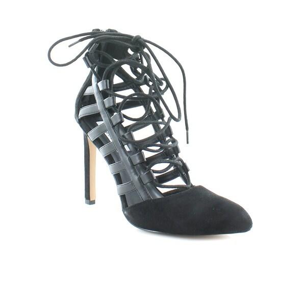 Chelsea & Zoe Paiton Women's Heels Black - 8.5