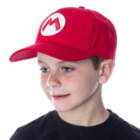 Nintendo Youth Boys Super Mario Snapback Baseball Cap