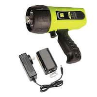 UK Light Cannon eLED (L1) w/ NiMH Battery/Charger, Pistol Grip, Box Dive Light - Yellow