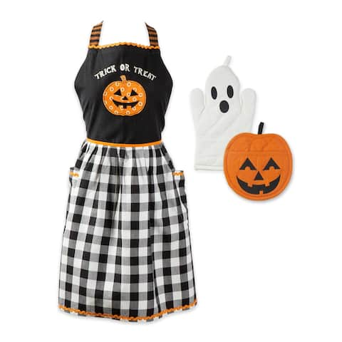 DII Halloween Jack O Lantern Collection Boo! Kitchen Set